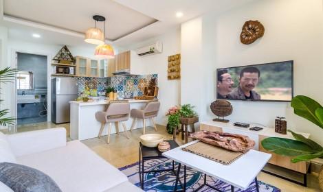 Hình ảnh thực tế dự án 20 căn hộ studio Helen Apartment Phú Nhuận