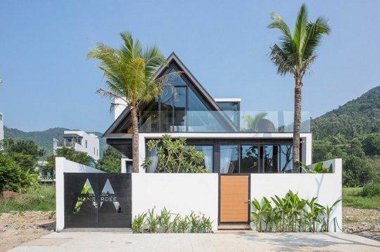 Kiến trúc ngôi nhà thép áp mái Đẹp Độc Lạ ở Sơn Trà Đà Nẵng
