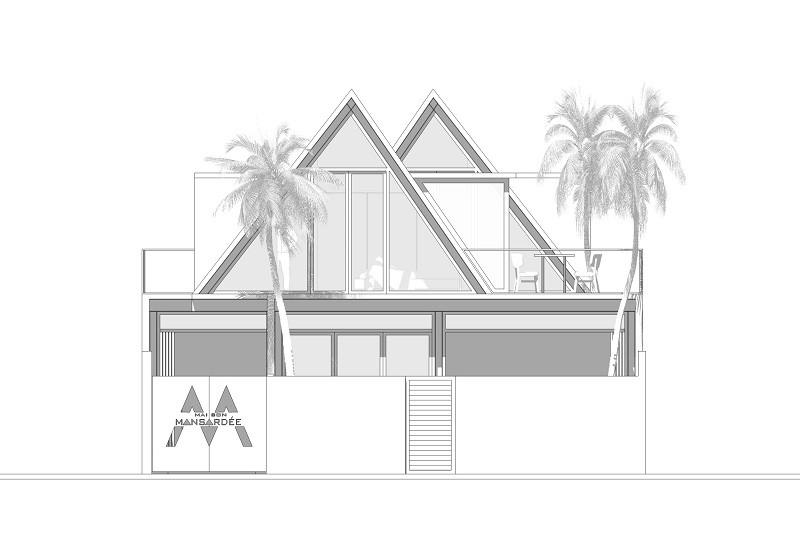 Độc lạ ngôi nhà thép áp mái ở Sơn Trà - ảnh 12