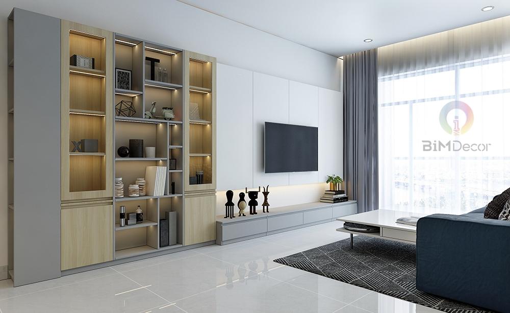 Thiết kế & thi công căn hộ The Gold View Quận 4