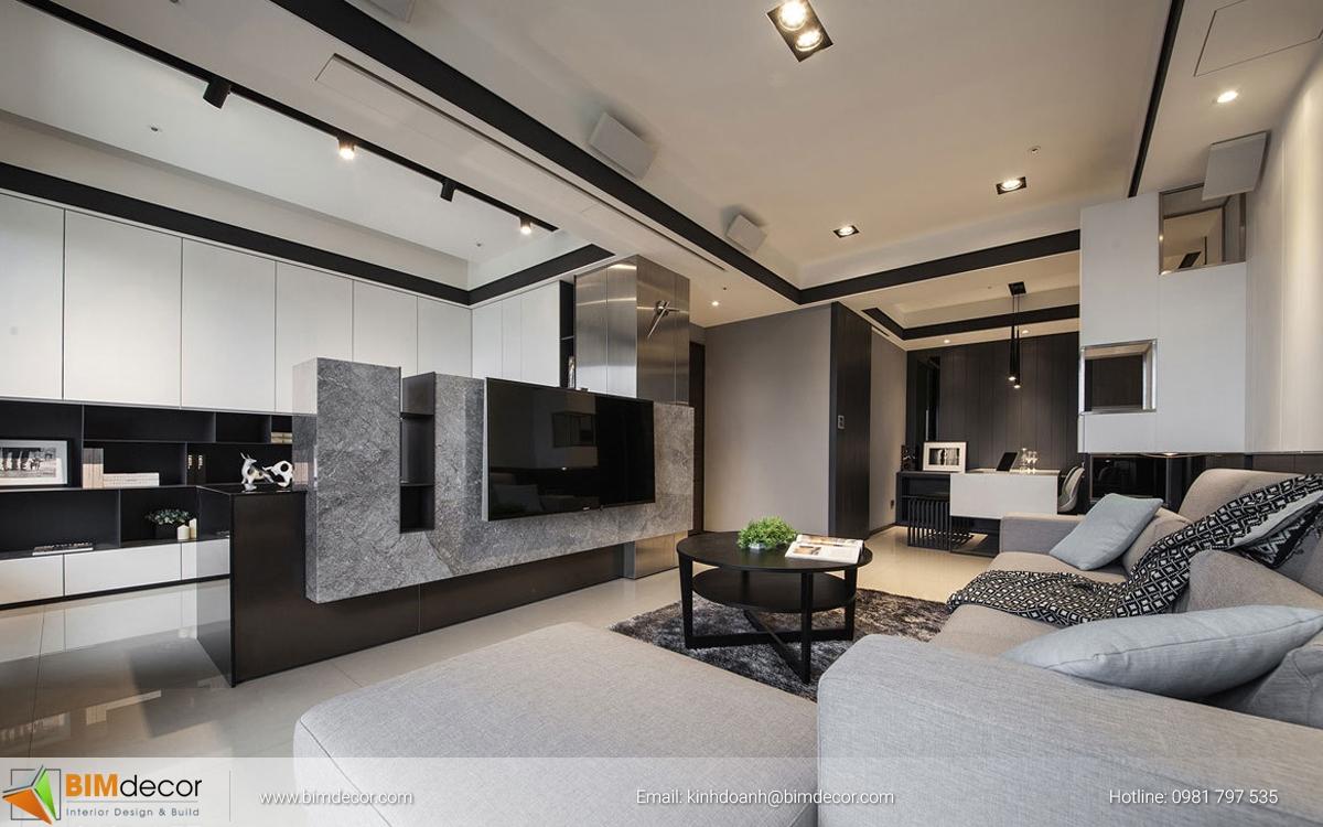 Mẫu phòng khách đẹp 012