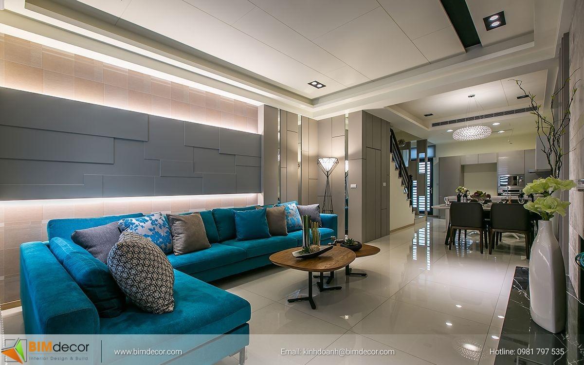 Mẫu phòng khách đẹp 022