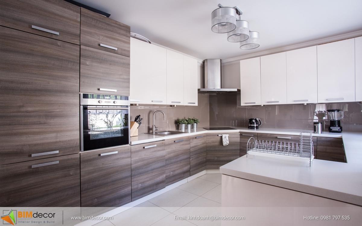 Mẫu tủ bếp đẹp 005
