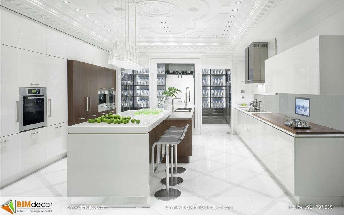 Mẫu tủ bếp đẹp 009