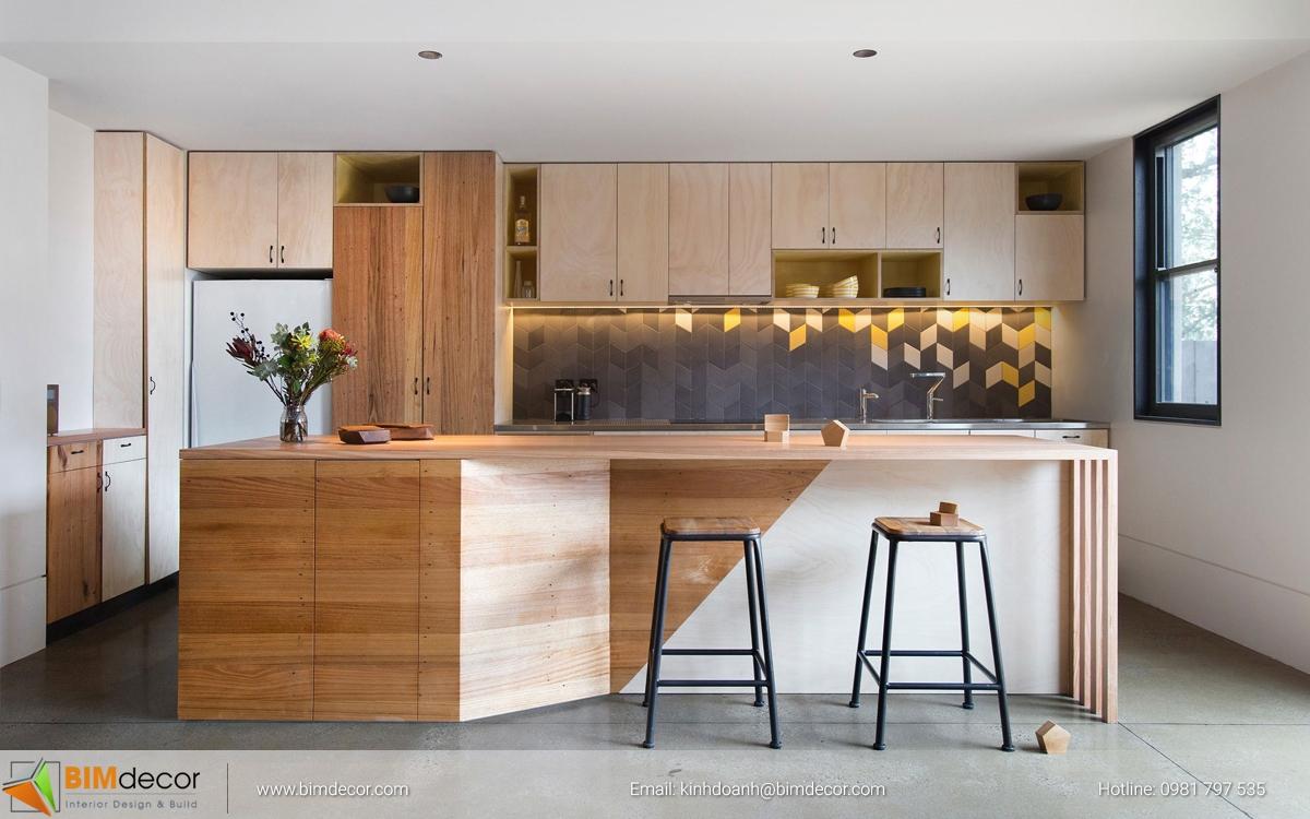 Mẫu tủ bếp đẹp 012