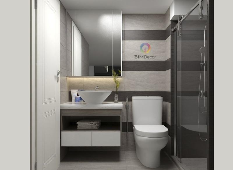 Thiết kế & thi công căn hộ Opal Garden