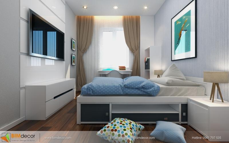 Nội thất căn hộ Sunrise City North 123m2