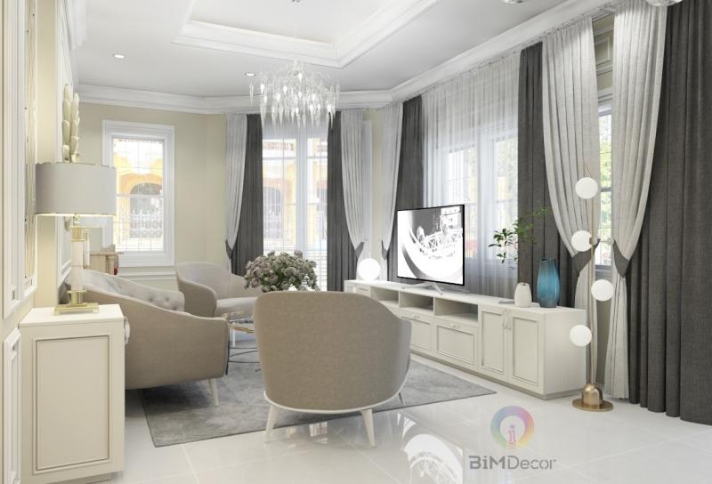 Thiết kế & thi công căn hộ Sarimi Sala Quận 2