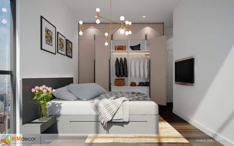 Nội thất căn hộ The Acsent Quận 2