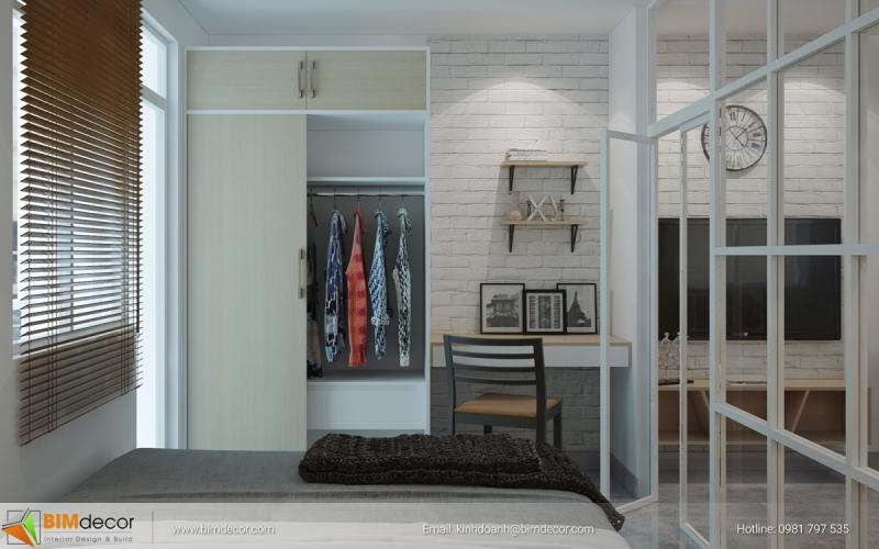 Dự án nội thất căn hộ Hiệp Thành Bình Dương