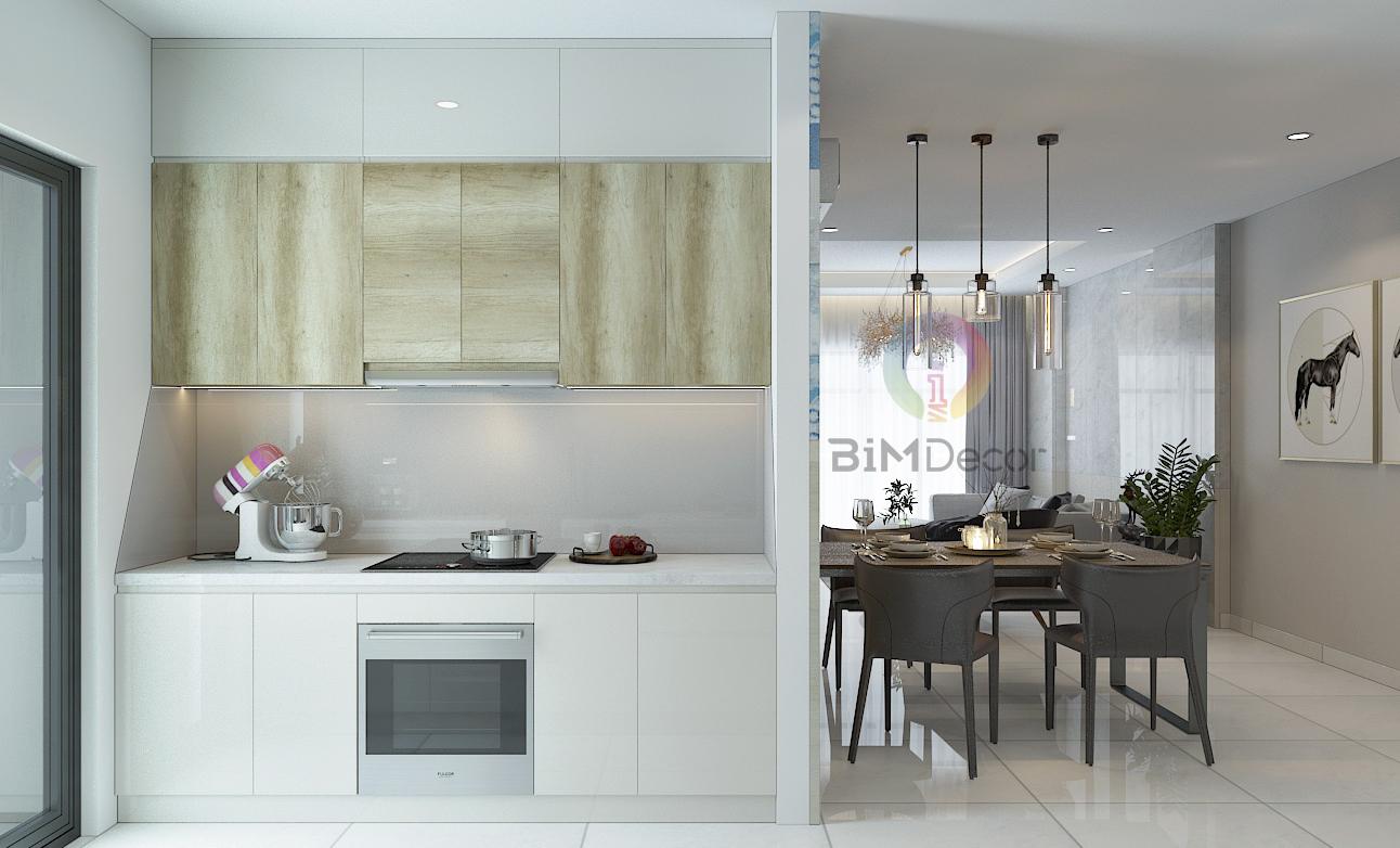 Thiết kế & thi công căn hộ Hà đô Centrosa Quận 10